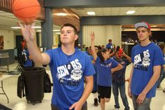 Safford High School seniors were offered an evening of food, games and prizes during the Senior Togetherness event Friday at the school.