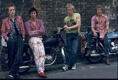 The Sex Pistols in 1976. Wolfgang Heilemann