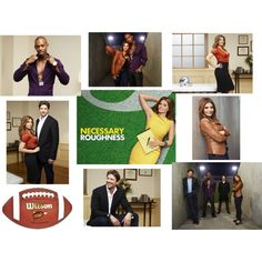 Necessary Roughness TV Spread