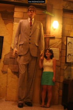 The tallest man on earth guinness book