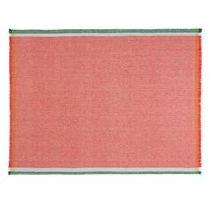 We love the vibrant color of this wool throw. | $395