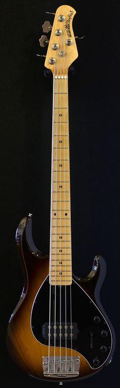 ERNIE BALL MUSICMAN Stingray 5 H Tobaccoburst five string bass | Bass Direct