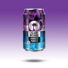Island Records Beer - La Boca