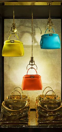 The new fendi vending machine windows in rome. when you simply must have a new · shop window displayswindow display