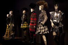 "JPG - expo Montreal - Gaultier en Ecosse - Collection ""So British"" automne-hiver 2007-2008"