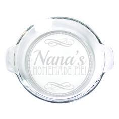 Pie Plate - 9 in. w/handles  - Nana's Homemade Pie