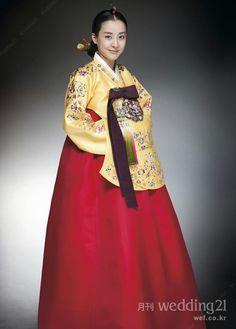 Eun-Hye Park in hanbok