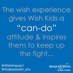 #WishImpact #MakeAWishSNV