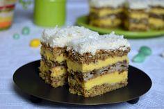 Torta sa orasima i kafom My Recipes, Sweet Recipes, Cake Recipes, Dessert Recipes, Cooking Recipes, Kolaci I Torte, Torte Cake, Cake Factory, Croatian Recipes