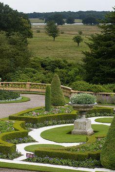 Tatton Park, Cheshire |    Italian Parterre Garden (by Joseph Paxton)