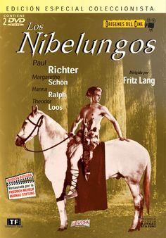 Los nibelungos (1924) Alemania. Dir: Fritz Lang. Drama. Fantástico. Aventuras. Expresionismo alemán - DVD CINE 497