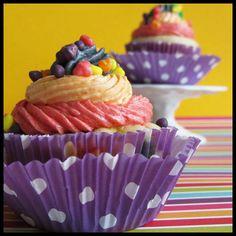 Fun-a-licious Nerds cupcakes (by the Cupcake Crusaders)