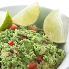 Le guacamole, toujours apprécié avec l'apéritif...