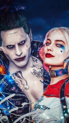 64 best Joker Harley Wallpaper pictures in the best available resolution. Harley And Joker Love, Harley Quinn Et Le Joker, Harley Quinn Halloween, Margot Robbie Harley Quinn, Harely Quinn And Joker, Tatuaje Harley Quinn, Harley Quinn Tattoo, Harley Quinn Drawing, Joker Images