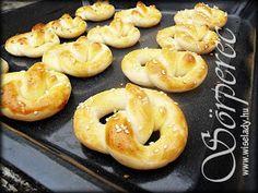 Anya főztje: Sörperec Bagel, Bread, Food, Brot, Essen, Baking, Meals, Breads, Buns