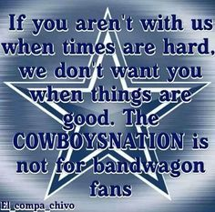 Not for bandwagon fans