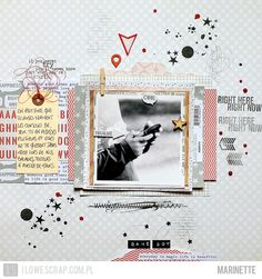 ★Scraptherapie★: {DT I{lowe}SCRAP>>>2 pages}