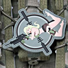 Combat Pinup Girls Morale Patches Mary Moneyshot