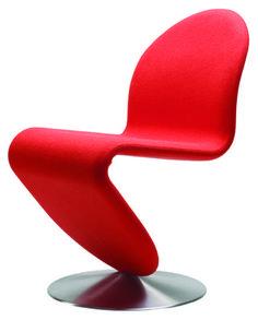 123 gepolsterter stuhl panton 1973 verpan liebschaften stuhl polstern rotem interieur sitzkissen