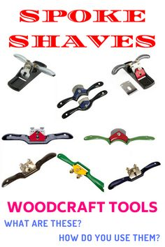 The spoke shave is a very underrated wood workers tool. Spoke shaves were used to shape wagon spokes by hand. If you find a good old spoke shave you need to hold onto it they are rare.