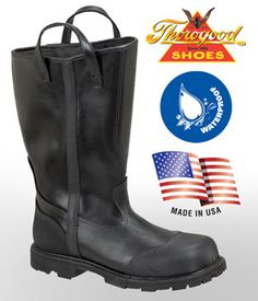"""Thorogood 14"""" Structural Fire Fighting Oblique Toe Bunker Boot $349.50"""