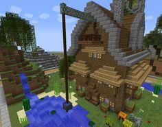 Best MinecraftMittelalter Images On Pinterest Minecraft - Minecraft mittelalter haus map
