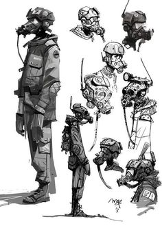Ian mcque. Loving this sketchy, angular style. Reminds me of Jaime Hewlett's style!: