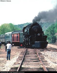 RailPictures.Net Photo: N&W 1218 Norfolk & Western Steam 2-6-6-4 at Toccoa, Georgia by TheFireman