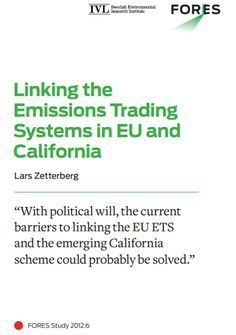 California emissions trading system