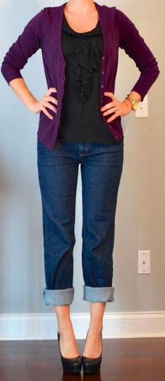 Purple Outfit..couldn't do the shoes though. Lol