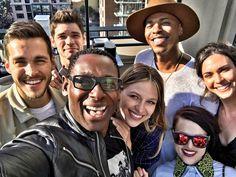 Supergirl cast at SDCC