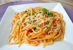 Linguine with Sun-Dried Tomatoes, Olives and Lemon
