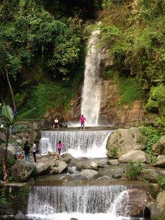 bakthang Falls in Sikkim