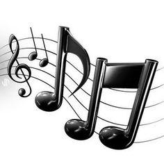 ☮ American Hippie Art ~ music symbols