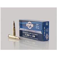 PPU, 7.62x39mm, PSP, 123 Grain, 20 Rounds: PPU, 7.62x39mm, PSP, 123 Grain, 20 Rounds #militarysurplus #ammo #outdoor #hunting