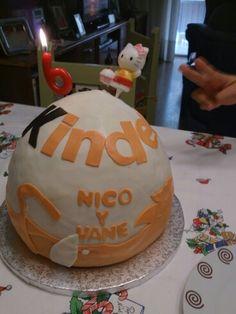 La tarta de mi cumple y de nico