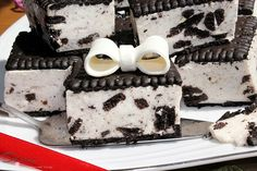 Oreo, Healthy Snacks, Panna Cotta, Cheesecake, Food And Drink, Sweets, Cooking, Ethnic Recipes, Ghibli