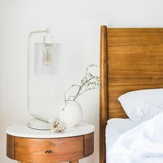 Best Bedside Lamps, Bedside Table Lamps, Bedroom Lamps, Desk Lamp, Master Bedroom, Bedroom Decor, Lamp Table, Bedroom Night, Decor Room
