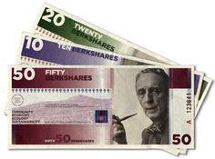This is what a #localcurrency looks like. BerkShares! More info here: http://wamc.org/post/tough-times-renew-interest-local-currencies