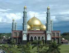 Mosque Golden Dome, Indonesia