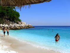 Saliara beach, Thassos, Greece