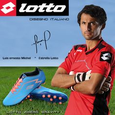 Lotto Zhero Gravity. Diseño italiano.