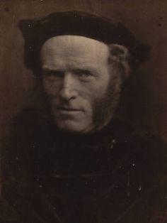 Tom Hughes M.P.  -- Julia Margaret Cameron 1865