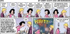 Today's that thing. ...that mandatory thing for parents.  -  Zitz comic