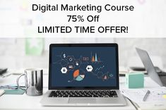 Sales been slow? Not enough customers?  Take your digital marketing strategy to the next level! Implementing a PROVEN digital marketing strategy will take your business to the next level. Become an expert now like OVER 1000 course-takers have already done!  The Digital Marketing Course is 75% off. To PURCHASE THE COURSE: www.digitalmarketing-course.com.  GROW SALES and see results quickly!  75% OFF at checkout!