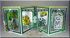 55 best card making accordion images on pinterest folded cards