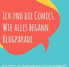 Blogparade: Wie ich zur Comicleserin wurde
