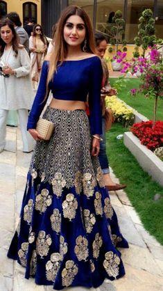 new Indian Lehenga Choli Ethnic Bollywood Wedding Bridal Party Wear Dress Indian Lehenga, Blue Lehenga, Lehenga Choli Online, Bridal Lehenga Choli, Party Wear Lehenga, Party Wear Dresses, Indian Wedding Party Dresses, Lehenga Choli Designs, Indian Attire