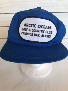 b5f2052137037 VTG Prudhoe Bay Alaska Hat Artic Ocean Golf and Country Club Prudhoe Bay  USA  ImprerialCaps