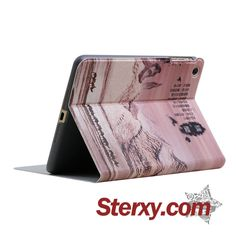 Sterxy 360 Rotating PU Leather Poetic Scene Cover for iPad Air/Air 2 Iphone 6, Iphone Cases, Ipad Covers, Air Air, Tablet Cases, Ipad Air, Pu Leather, Laptop, Scene